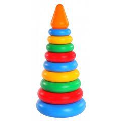 Развивающая игрушка Пирамидка 11 элементов