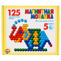 Магнитная мозаика, 125 элементов, 5 цветов