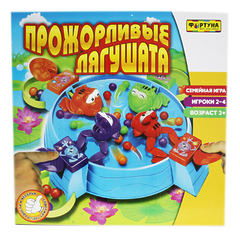 Настольная игра Прожорливые лягушата