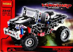 Конструктор Vanguard 3342 Суперкар (141 деталь)