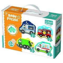 Пазл Baby Classic Транспортные средства, 3 4 5 6 элементов Трефл