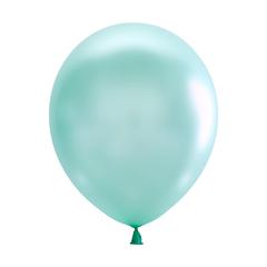 №052  Перламутр. Зелёный. С гелием. 30 см.