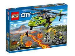 """LEGO City 60123 """"Грузовой вертолет исследователей вулканов"""""""
