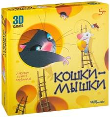 Настольная игра Кошки-мышки. Ловушки сырной пирамиды