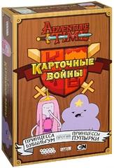 Настольная игра Время приключений: Карточные войны. Принцесса Бубыльгум против Принцессы Пупырки