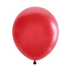 №105 Пастель. Красный. С гелием. 30 см.