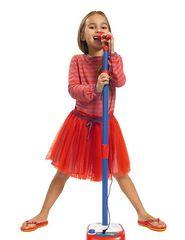 Детский микрофон на штативе Симба 106830402
