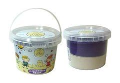 """Кинетический песок """"Rhino"""" (белый, фиолетовый; 0,5 кг)"""
