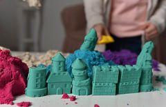 """Кинетический песок """"Rhino"""" (синий, розовый; 0,5 кг)"""