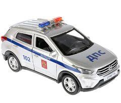 Внедорожник Hyundai Creta Полиция,12 см (свет+звук)