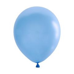 №191 Пастель. Голубой. С гелием. 30 см.