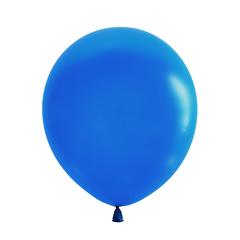 №109 Пастель. Синий. С гелием. 30 см.