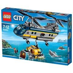 60093 Вертолет исследователей моря Lego City