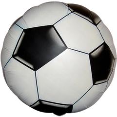 """№071 """"Футбольный мяч"""". С гелием. 45 см."""
