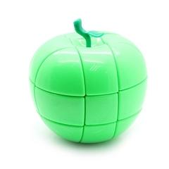 YJ Apple Cube 3x3x3 зеленый (Кубик Рубика ВайДжей Эпл куб 3х3х3)