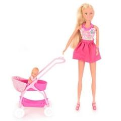 Кукла Штеффи с ребенком 29 см и 5 см