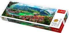Пазл панорамный Котор, Черногория, 500 элементов Трефл