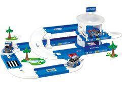Kid Cars 3D набор Полицейский участок Wader