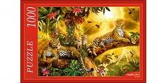 Пазл 1000 элементов Леопарды на дереве