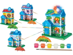 "Научный опыт 37209 ""Дом"" с красками, на батарейках"