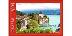 Пазл 1000 элементов Швейцарский замок на воде