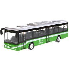 """Инерционная металлическая модель """"Городской автобус"""" 14,5 см."""