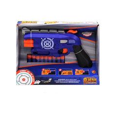 Пистолет с поролоновыми пулями в коробке