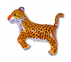 №251 Фигура с гелием. Леопард. 74 см*103 см.