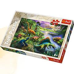 Пазл Динозавры (260 элементов)