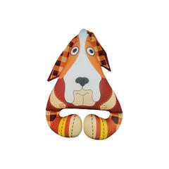 Игрушка антистресс «Собака ушастик» коричневая
