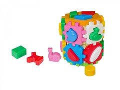 """Развивающая игрушка куб """"Умный малыш Конструктор ТехноК"""", арт. 2001"""