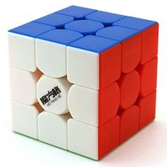 QiYi MoFangGe 3x3x3 Thunderclap v2 Цветной пластик (Кубик Рубика Чии Мофанг 3х3х3 Тандерклэп в2)