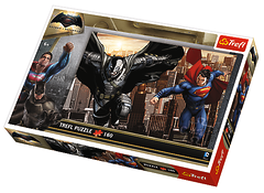 Пазл. Бэтмен Против Супермена (160 элементов), Трефл