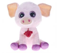 Мягка игрушка Глазастик - Свинка