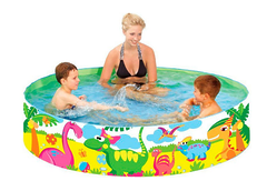 Каркасный бассейн Jilong Dinosaur Rigid Pool 240х38 см