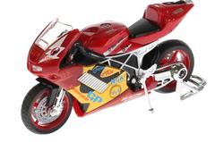 Мотоцикл Суперспорт со звуком, подвижные элементы (532116-R) 11.5 см