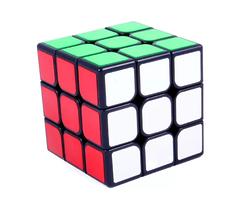 Головоломка Кубик Рубик GuanLong V3 3x3 Черный YJ8358