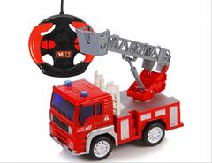 Пожарная машинка на радиоуправлении
