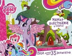 "Пазл-супер макси ""My Little Pony. Твайлайт Спаркл"", 35 элементов, Оригами"