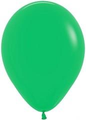 №124  Декоратор. Светло-зелёный. С гелием. 30 см.