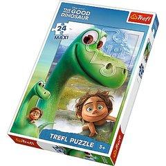 "Макси пазл ""Хороший динозавр"" - Арло и Спот (24 элемента), Трефл"