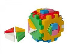"""Развивающая игрушка куб """"Умный малыш Логика 2 ТехноК"""", арт. 2469"""