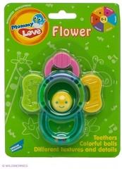 Прорезыватели MOMMY LOVE WD3318 Цветок