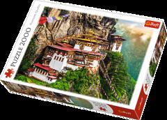 Пазл Трефл Монастырь Такцанг, Бутан, 2000 элементов