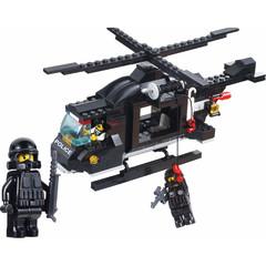 Конструктор Полицейский вертолет (M38-B1800)