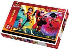 Пазл Трефл: Суперсемейка 2 Вместе, 100 элементов