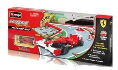 Bburago 18-31237 Игровой коврик с машиной 1:43 ФЕРРАРИ