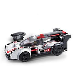 Конструктор Decool 78113 Ультракар Ultra Car R18 (174 детали)
