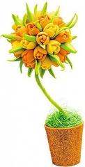 """Набор для творчества """"Топиарий"""" - Тюльпаны, малый"""
