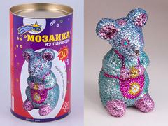"Набор для творчества 3D-мозаика из пайеток ""Мышка"""